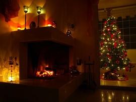 暖炉,ライトアップ,大理石
